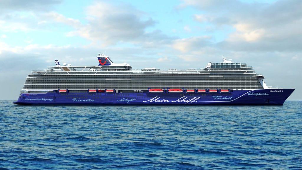 Neue Mein Schiff 2 - Der Neubau von Tui Cruises