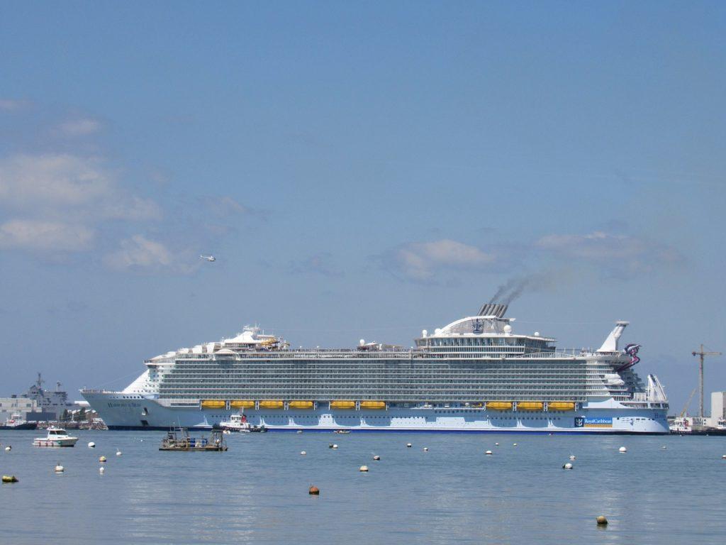 Das größtes Kreuzfahrtschiff der Welt