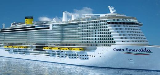 Costa Smeralda: Hoolywoodstar Penelope Cruz tauft das erste LNG-Schiff von Costa Crociere