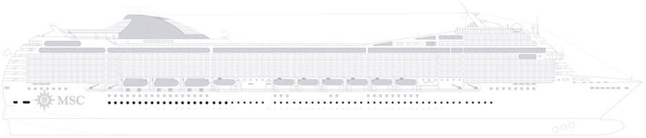 MSC Musica Deckplan