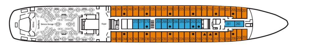 Deckplan MS Berlin