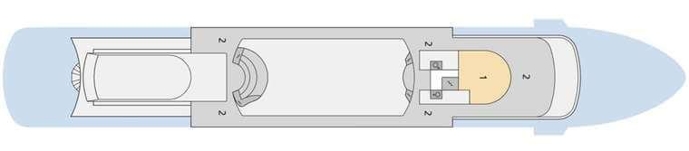 AIDAcara Deck 11
