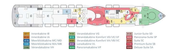 AIDAprima Deck 7