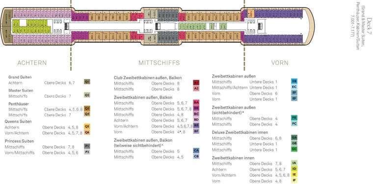 Queen Elizabeth Deck 7