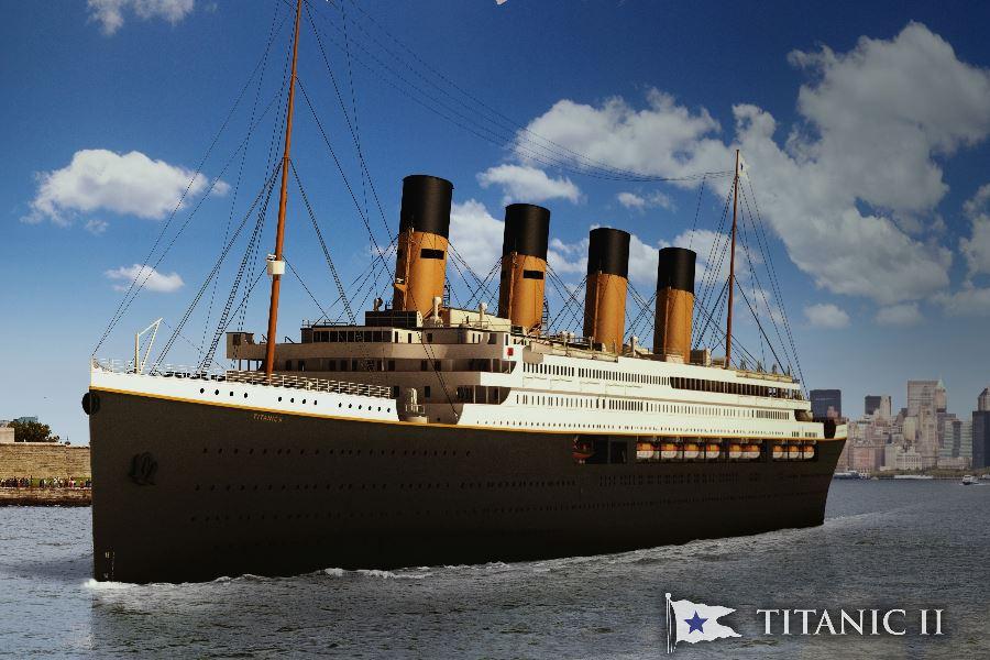 Titanic 2 Neubau