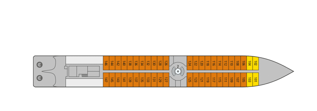 A-Rosa Riva Deckplan