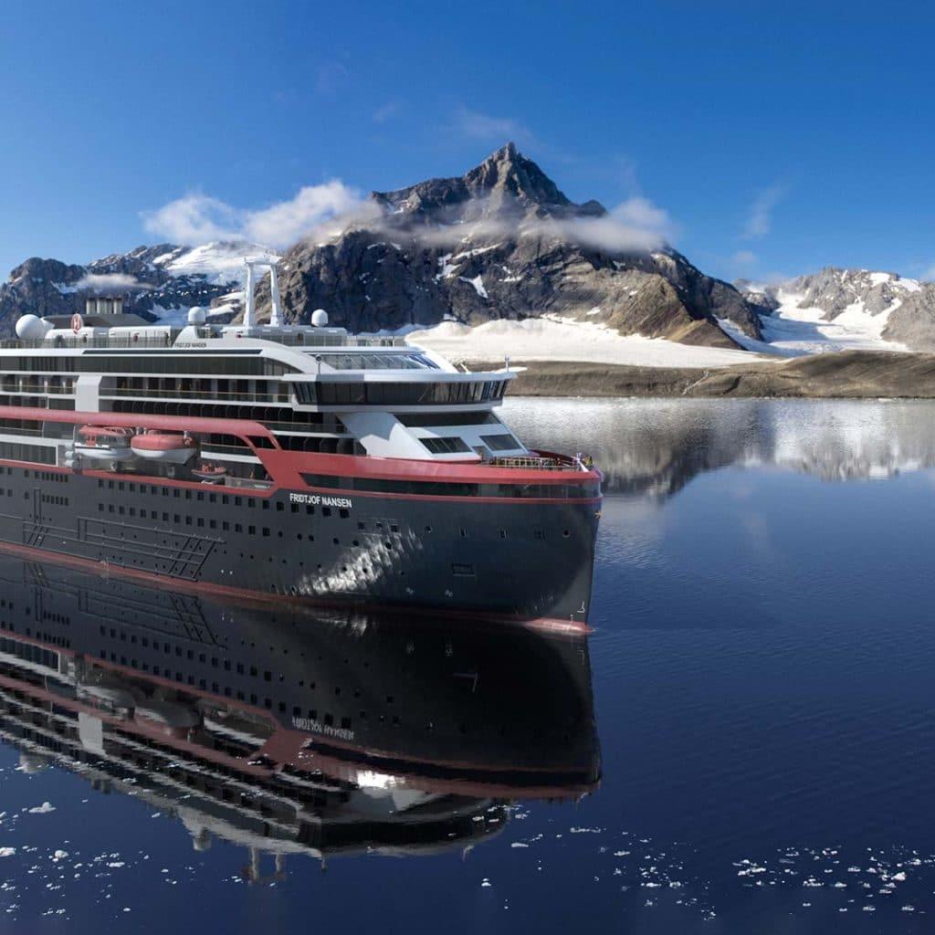 Hurtigruten: Fridtjof Nansen schließt Probefahrten ab