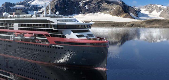 Hurtigruten: Erfolgreicher Neustart ab Hamburg mit MS Fridtjof Nansen