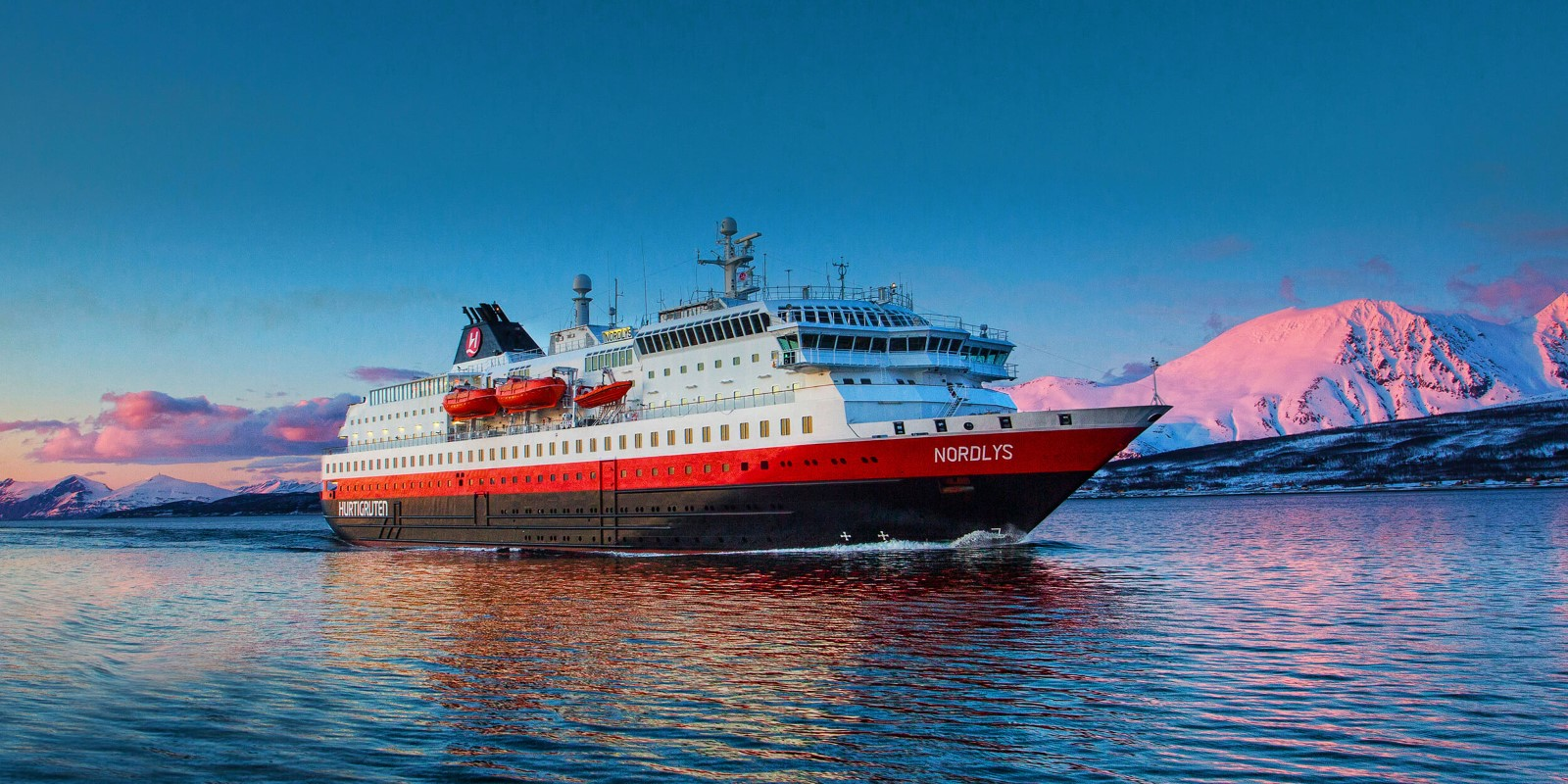 Hurtigruten führt risikofreie Umbuchungen ein