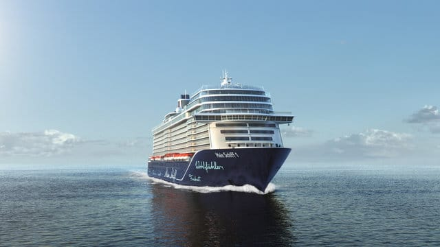 TUI Cruises: Blaue Reisen mit der Mein Schiff Flotte – ab 31.7. auch mit der Mein Schiff 1 ab und bis Kiel
