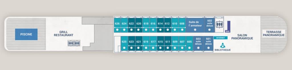 L'Austral Deck 6