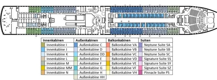 MS OOSTERDAM Deck 1