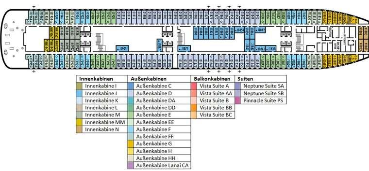 MS VOLENDAM Deck 1