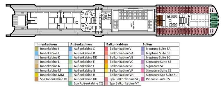 MS Eurodam Deck 10