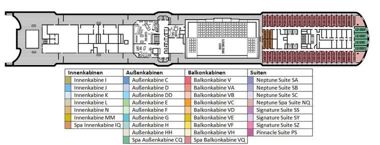 MS NIEUW AMSTERDAM Deck 10