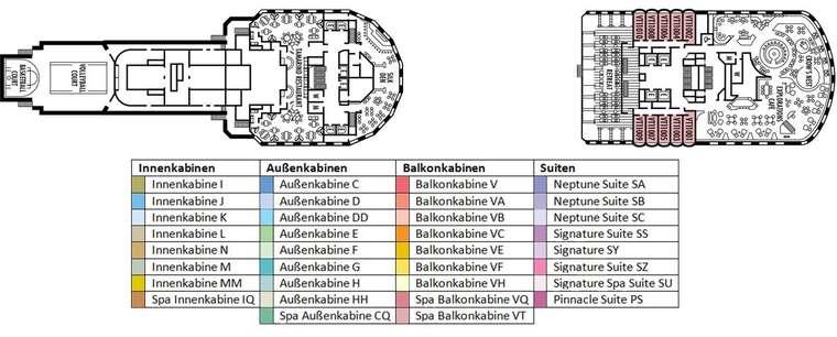MS Eurodam Deck 11