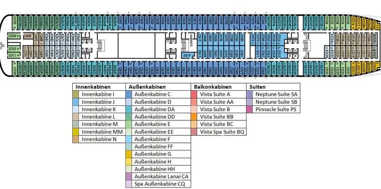 MS ROTTERDAM Deck 2