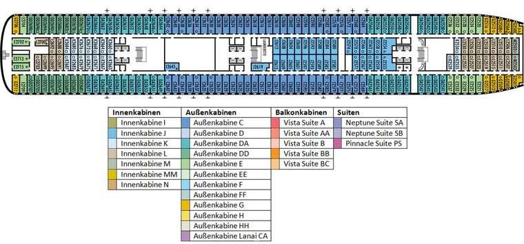 MS VOLENDAM Deck 2
