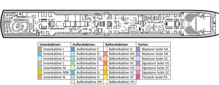 MS NOORDAM Deck 3