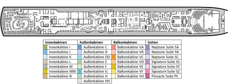 MS OOSTERDAM Deck 3
