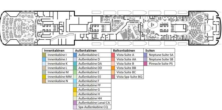 MS ROTTERDAM Deck 4