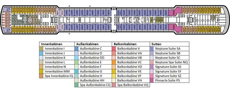 MS NIEUW AMSTERDAM Deck 7