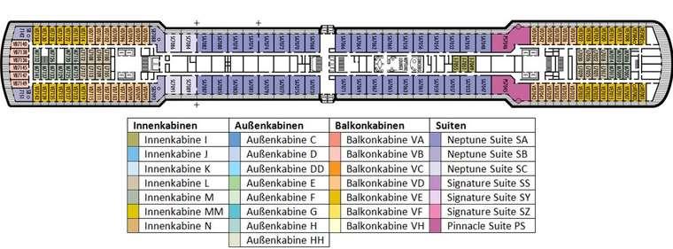 MS OOSTERDAM Deck 7