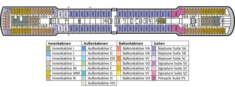 MS WESTERDAM Deck 7