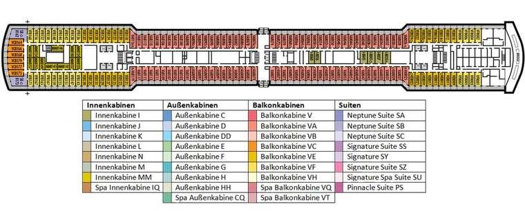 MS Eurodam Deck 8
