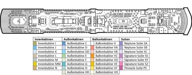MS NOORDAM Deck 9