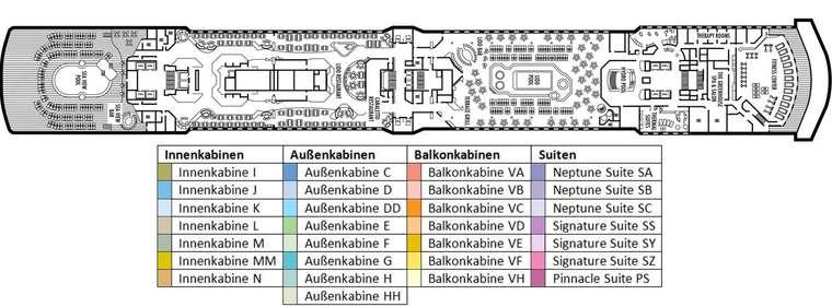 MS OOSTERDAM Deck 9
