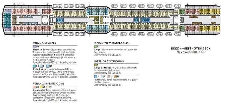 Nieuw Statendam Deck 4
