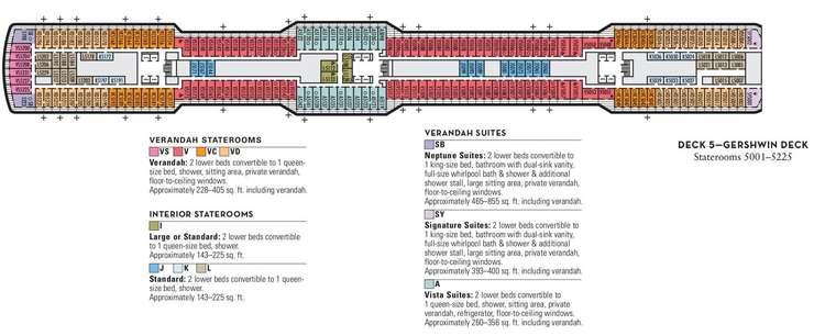 Nieuw Statendam Deck 5