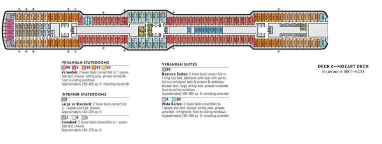 Nieuw Statendam Deck 6