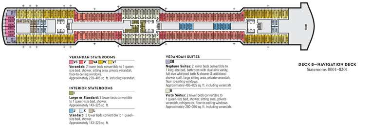 Nieuw Statendam Deck 8