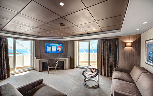 MSC Bellissima Yacht Club Royal Suite