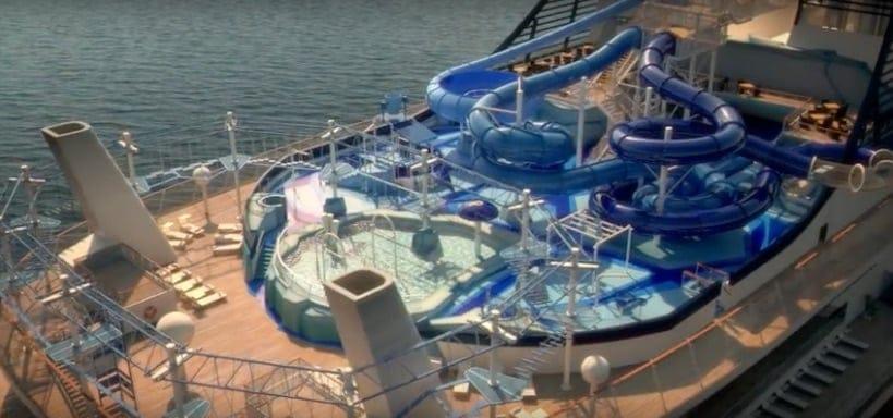 MSC Bellissima Aqua Park