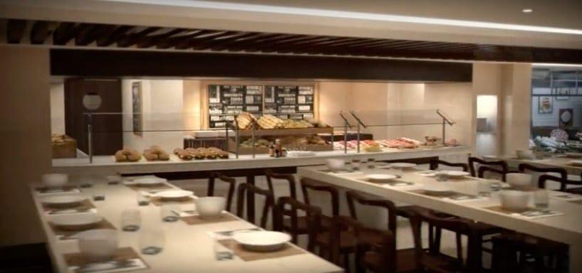 MSC Grandiosa Restaurant