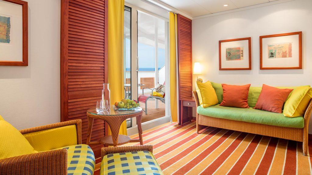 AIDAvita Premium-Suite mit Sonnendeck