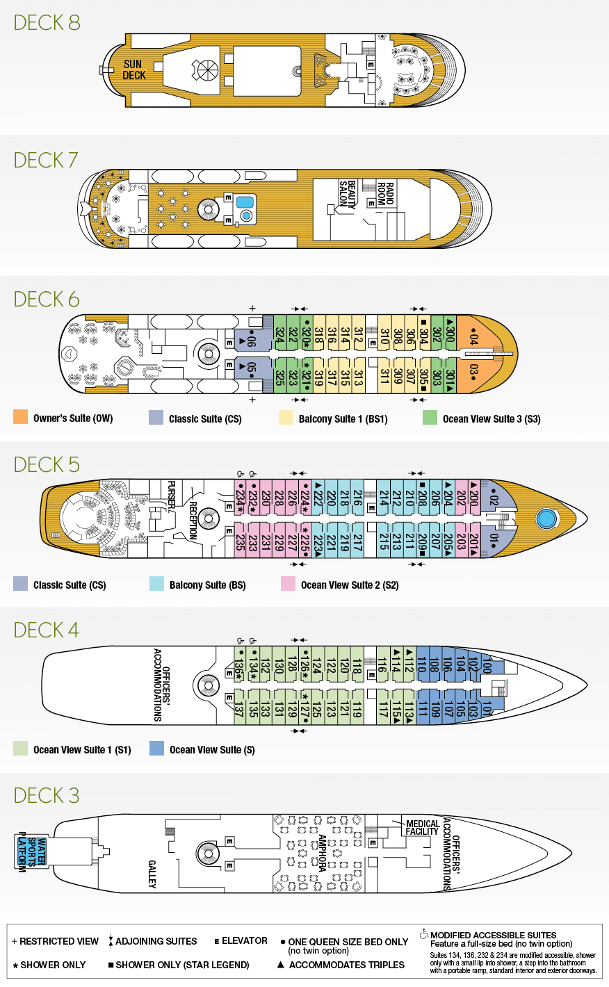 Star Legend Deckplan