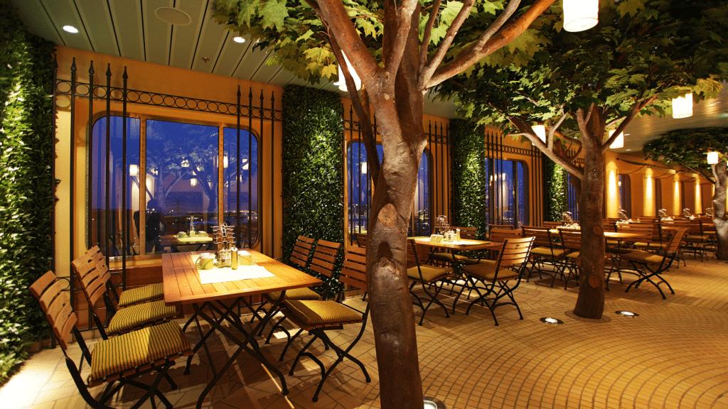 AIDAblu Restaurant und Bars