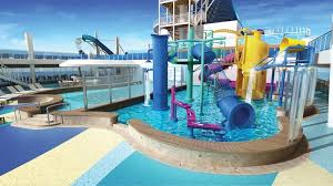Norwegian Encore Waterpark
