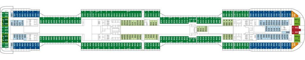 MSC Grandiosa Deck 9