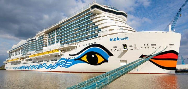 AIDA Cruises annulliert die geplante Jungfernfahrt der AIDAnova