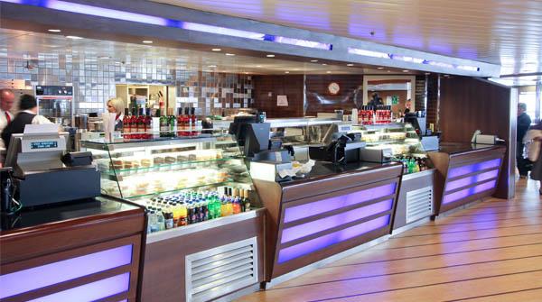 Stena Superfast VIII Metropolitan Bar & Grill Restaurant
