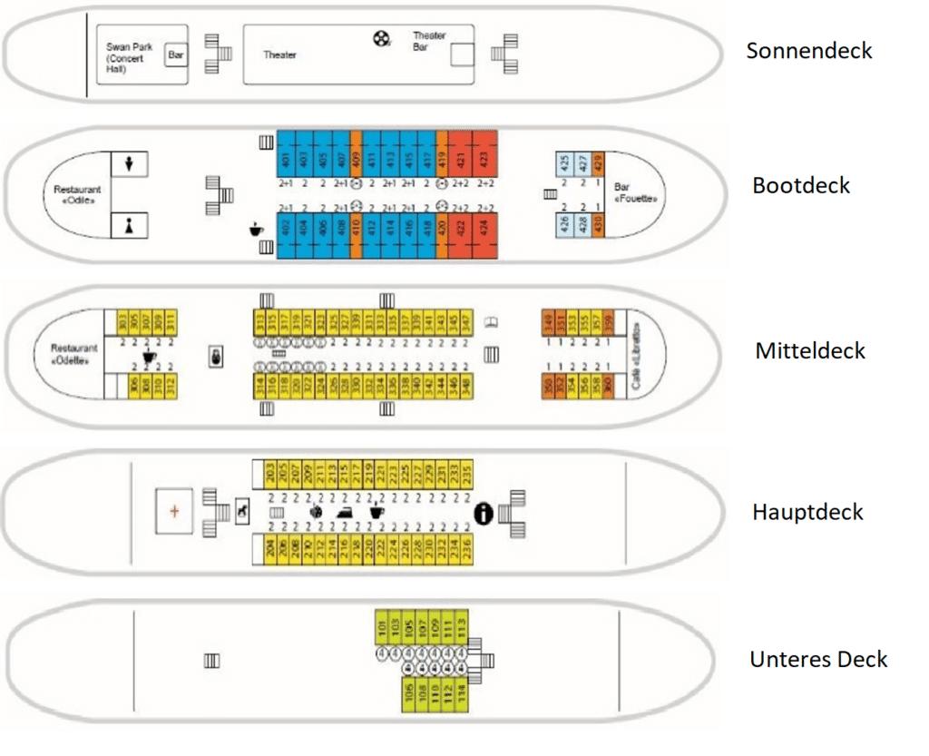 MS Crucelake Deckplan