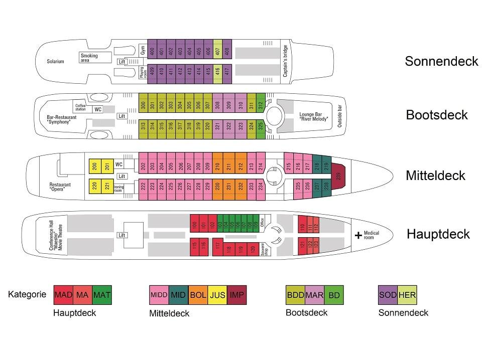 MS Rostropovich Deckplan