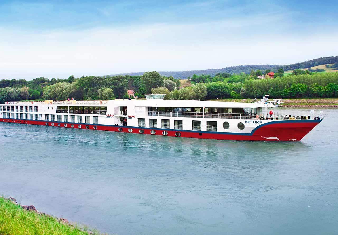 Nicko Cruises: Buchungsstart für Donau und Rhein 2021