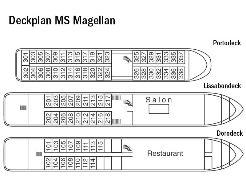 MS Magellan Deckplan