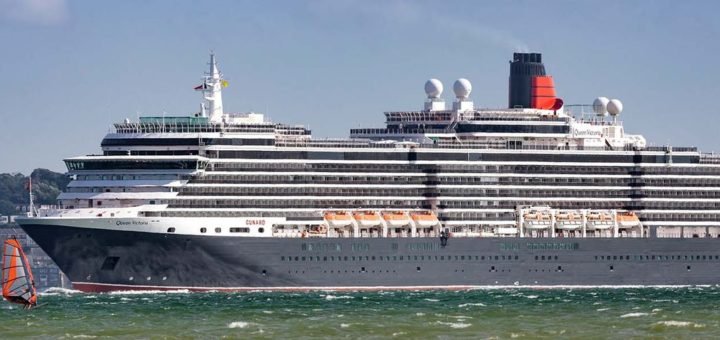 Cunard: Queen Elizabeth geht auf Sommer-Reisen rund um Großbritannien